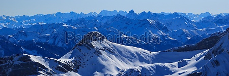 mountain ranges of the swiss and