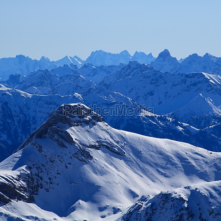 mount margelchopf and other mountains of