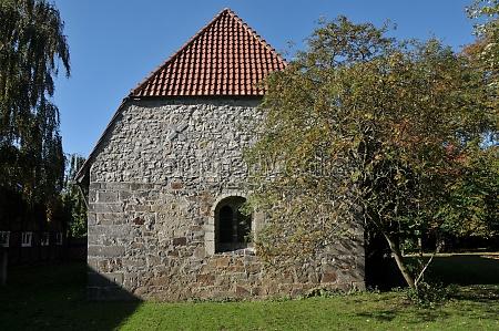 old historic chapel in hannover ricklingen