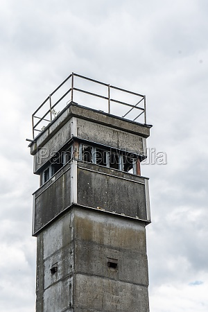 watchtower on the former border of