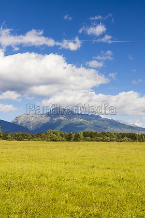 high tatras with the dominant mountain