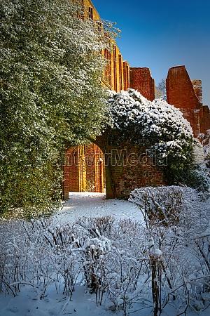 old cistercian abbey ruin