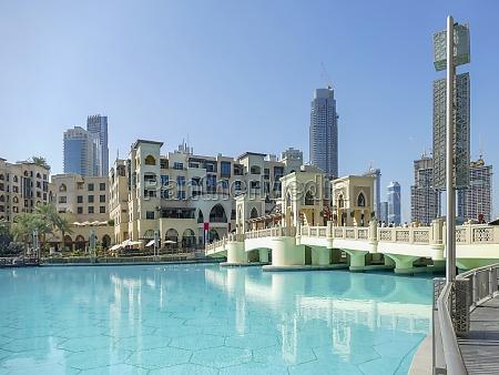 burj khalifa park in dubai