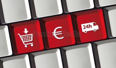 online shop e commerce principle on