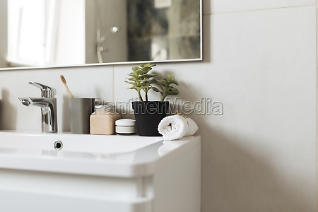 washbasin in bathroom bath accessories household