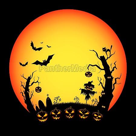 halloween scary night eve