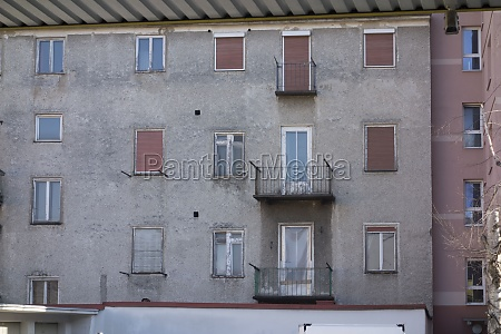 balcony at an apartment building