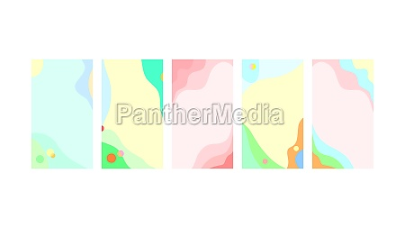 abstract trendy summer spring background