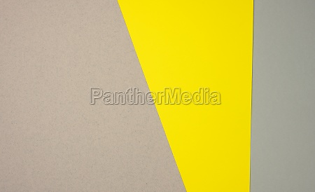 gray yellow cardboard paper background