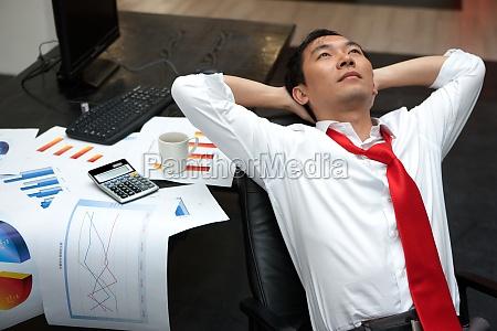 rest after work