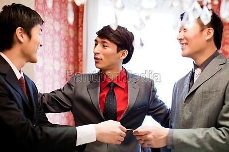 nice to meet business people