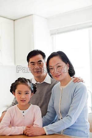 oriental three adult girl older woman