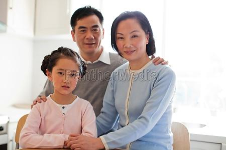 children granddaughter transverse composition warm face