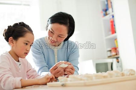 children transverse composition elder family affection