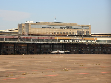 main building at airfield tempelhof in