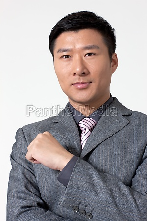 business portrait of a male white
