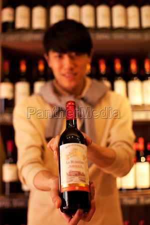 sales of wine in wine shop
