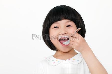 oriental asians yogurt drink oriental figures