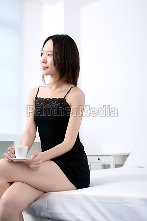 a woman enjoying leisure time in