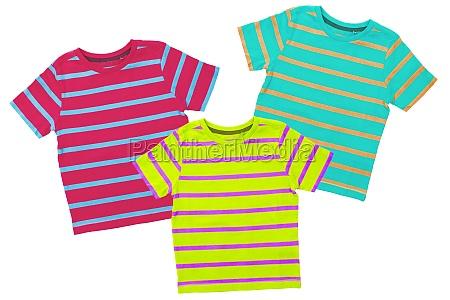 striped shirts closeup of a green