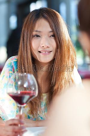 sit diet smile indoor women portrait