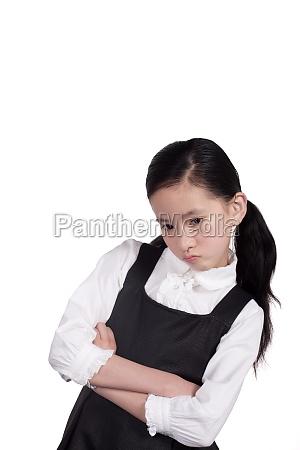 a girl depressed mood