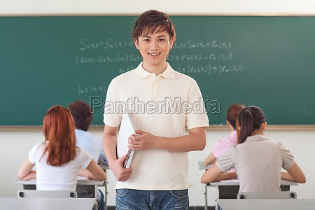 students classroom learning