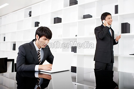 business team communication in the office