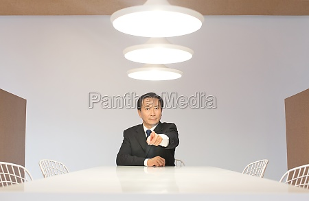 business people working condition