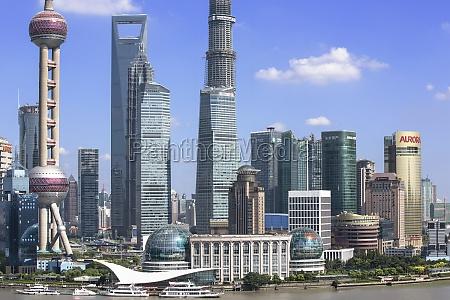 cloud development daylight skyscrapers jin mao