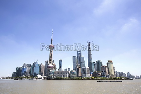oriental pearl tower city life architectural