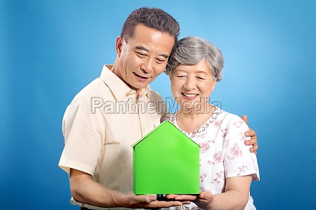 the elderly feel at ease pension