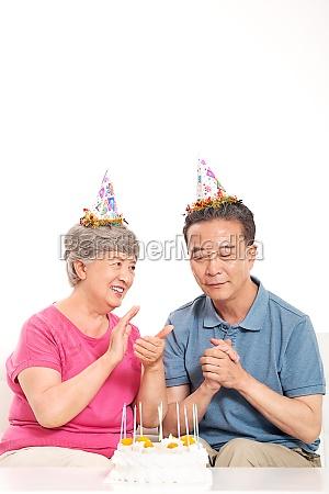happy life of the elderly