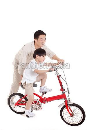 son teach adult the blue man