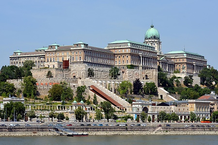 royal palace of budapest hungary