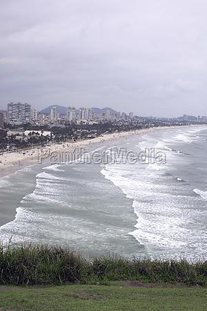 guaruja brazil beach nature seaside sao