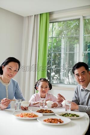 seniors grandmother grandparents girl chinese food