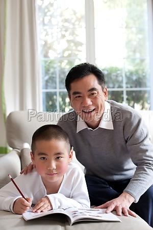 adult learning seniors family affection elder