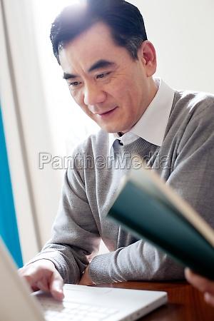 digital seniors adult communication older men