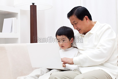 asians longevity children older men family