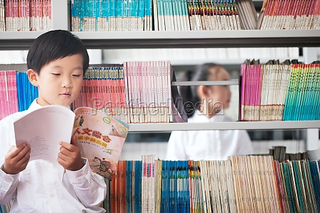 bookshelf children reading learning pupils knowledge