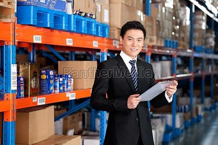 staff luxx asia portrait logistics adult