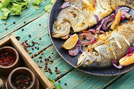 baked trout with lemon grilled trout