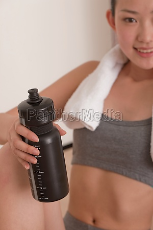 fitness adult bodybuilding vertical composition adult