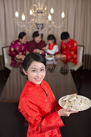 dumplings happiness mother chinese culture chinese