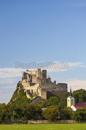 ruins of beckov castle slovakia