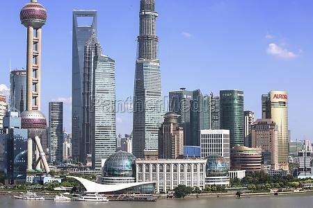 outdoors financial district sky jin mao