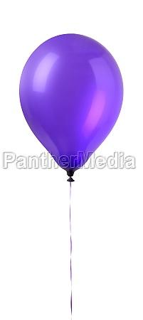 shed shot hanging balloon close up