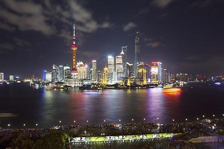 development travel financial district sky international