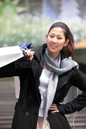 women alone asians outdoors buy young
